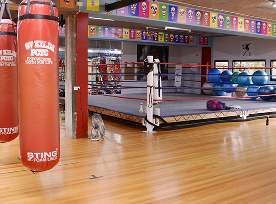 St Kilda PCYC Boxing Hall