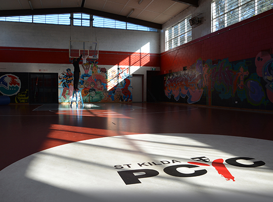 St Kilda PCYC Basketball Court