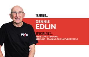St Kilda PCYC trainer Dennis Edlin